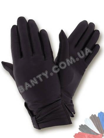Женские перчатки на шерстяной подкладке, модель 111, фото 2