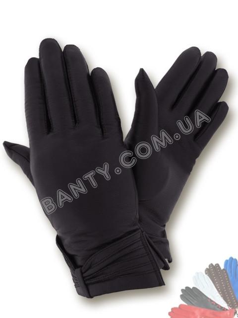 Женские перчатки на шерстяной подкладке, модель 111