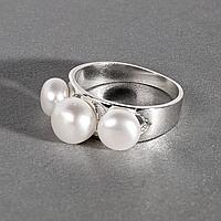 Жемчуг белый, серебро 925, кольцо, 965КЖ