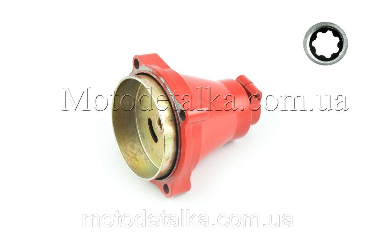 Корпус вариатора мотокосы 7T (Ø26) (красный)