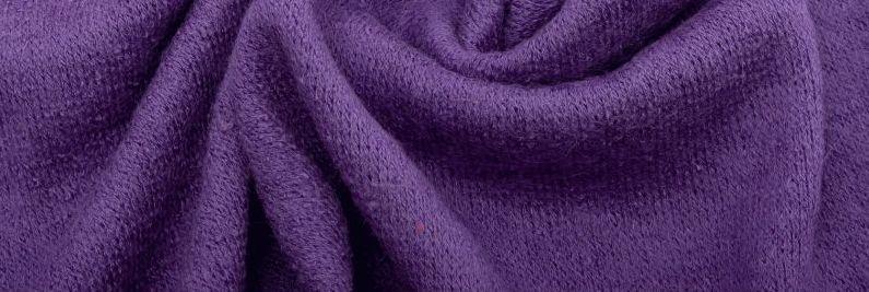 Ткань Ангора Арктика, фиолетовая