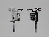 Шлейф для iPhone 4S (С разьемом для наушников) Original white