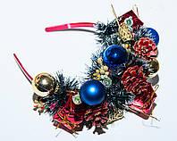 Обруч корона для костюм елочка на новый год