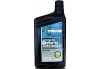 Масло моторное полусинтетическое MAZDA Super Premium 5W-30, оригинальное, 0.946 литр, 0000775W30QT