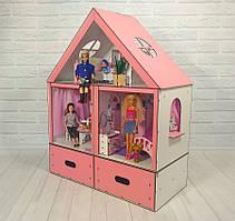 """Ляльковий будиночок """"Особняк Барбі LUX"""" з меблями Fana"""