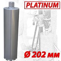 """Алмазная коронка SUPERHARD """"PLATIMUM"""" Ø202 мм 1 1/4""""UNC"""