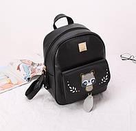 Рюкзак жіночий Katia з принтом єнота, фото 1