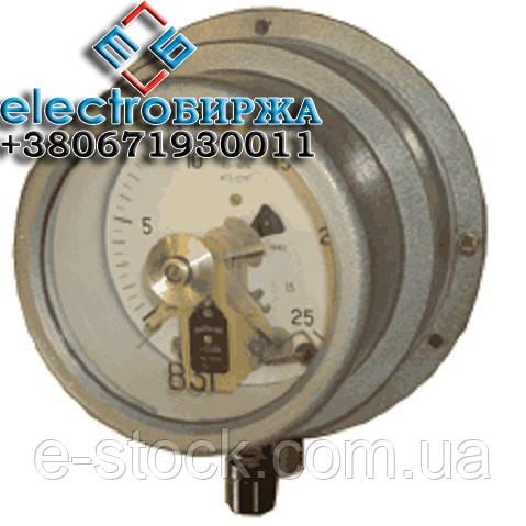 Манометр ВЭ-16РБ сигнализирующий, электроконтактный, взрывозащищенный
