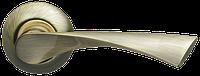 ARMADILLO Ручка раздельная Corona LD23-1AB/SG-6 бронза/матовое золото