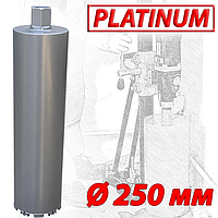 """Алмазная коронка SUPERHARD """"PLATIMUM"""" Ø250 мм 1 1/4""""UNC"""