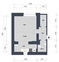 Дизайн интерьера квартиры пакет Эконом