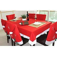 Рождественский набор для украшения стола (Праздничная скатерть)