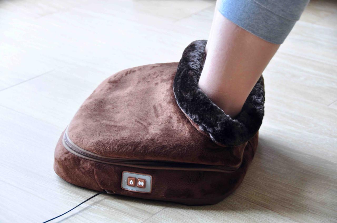 Вибромассажер Сапожок Wellneo (массажер для ног,массажная подушка)