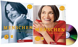 Немецкий язык / Menschen / Kursbuch+Arbeitsbuch. Учебник+Тетрадь (комплект с дисками), B1.1 / Hueber