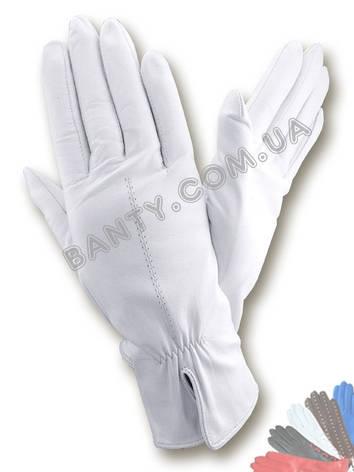 Женские перчатки на шерстяной подкладке, модель 137, фото 2