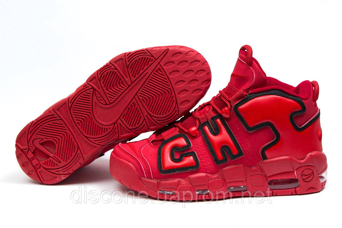 Кроссовки мужские 14823 ► Nike More Uptempo, красные ✅SALE! 42% ► [ 44 46 ]
