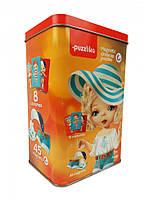 """Магнитные пазлы """"Куклы 1"""" развивающая игра для деток старше трех лет - отличный подарок для девочки"""