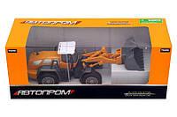 Стройтехника (Бульдозер) Автопром – увлекательная детская игрушка, отличный подарок для мальчика