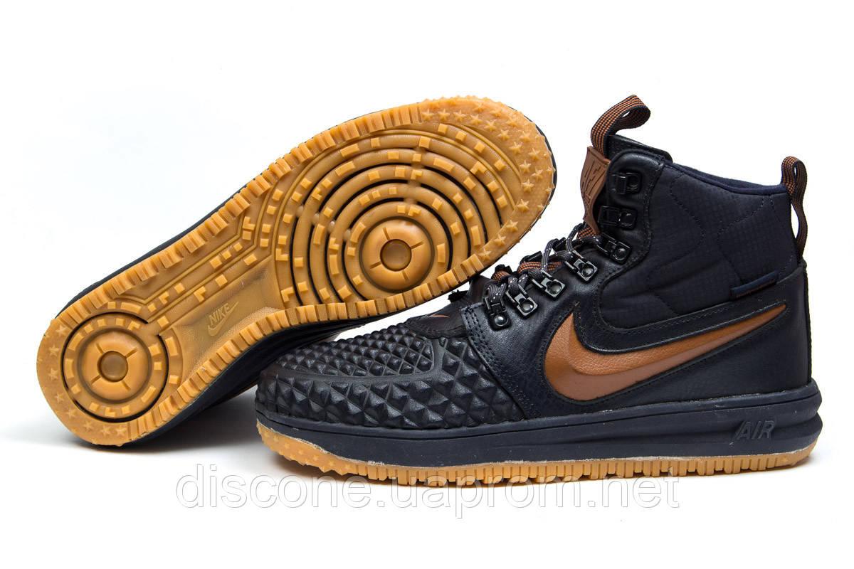 Зимние мужские кроссовки 30913 ► Nike LF1 Duckboot, темно-синие ✅SALE! % ► [ нет в наличии ]