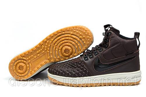 Зимние кроссовки Nike LF1 Duckboot, коричневые (30914), р.  [  41 43  ]
