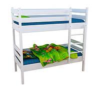 Кровать детская 2-ярусная из натурального дерева (15675Бф)