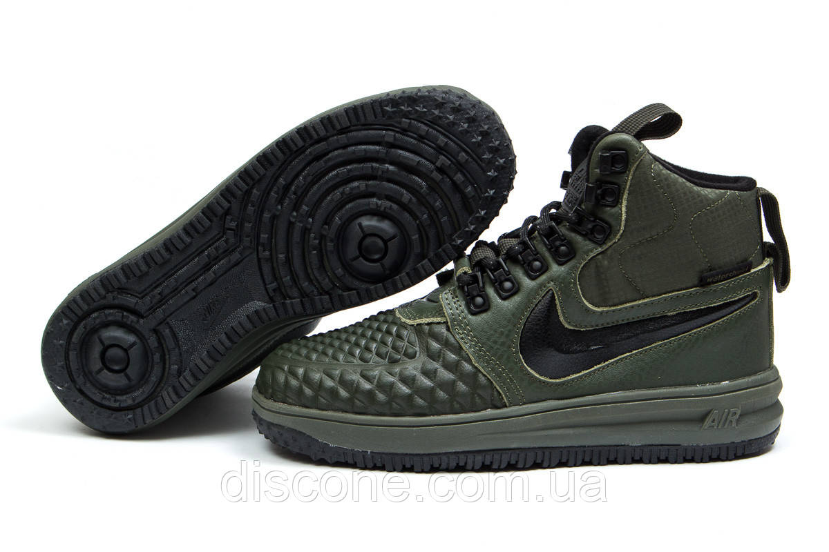 Зимние кроссовки ► Nike LF1 Duckboot,  хаки (Код: 30925) ►(нет на складе) П Р О Д А Н О!