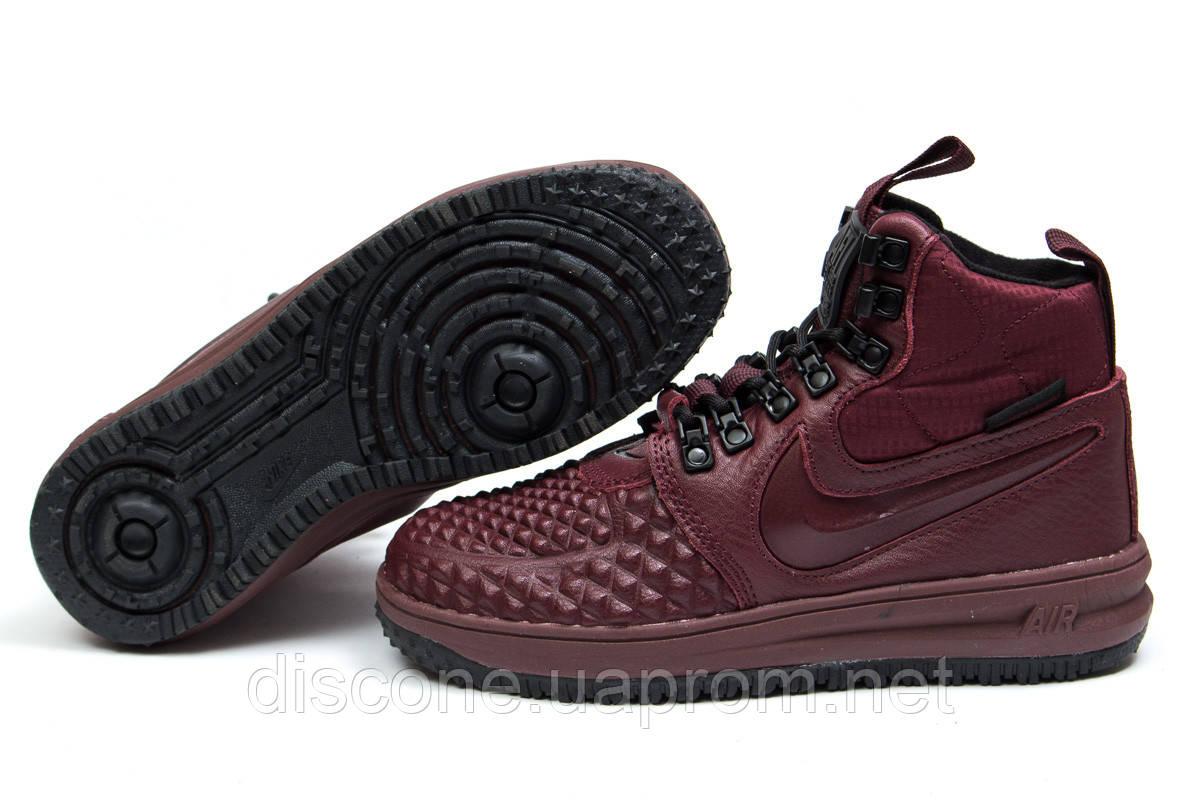 Зимние кроссовки ► Nike LF1 Duckboot,  бордовые (Код: 30926) ► [  36 (последняя пара)  ] ✅Скидка 16%
