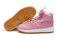 Зимние кроссовки Nike LF1 Duckboot, розовые (30927), р.  [  38 39  ]