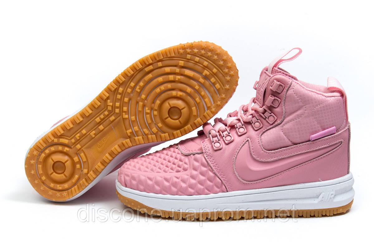 Зимние женские кроссовки 30927 ► Nike LF1 Duckboot, розовые ✅SALE! % ► [ нет в наличии ]