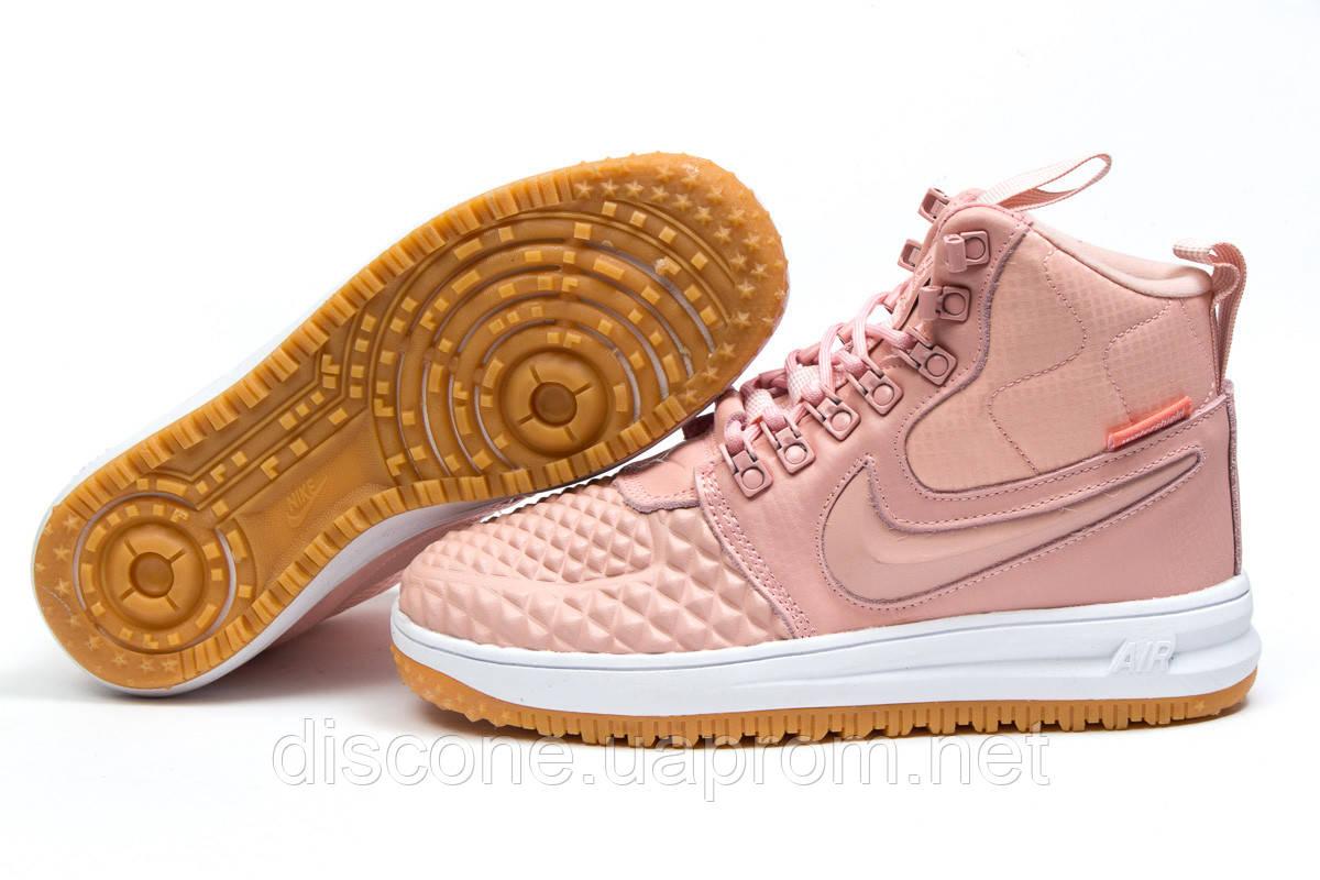 Зимние женские кроссовки 30928 ► Nike LF1 Duckboot, розовые ✅SALE! % ► [ нет в наличии ]