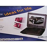 """Panasonic TH 7050 Портативний DVD 7,6"""" TV+USB+SD, фото 2"""