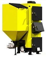 Универсальный котел на сыпучем топливе KRONAS COMBI 125 кВт с горелкой и подающим механизмом