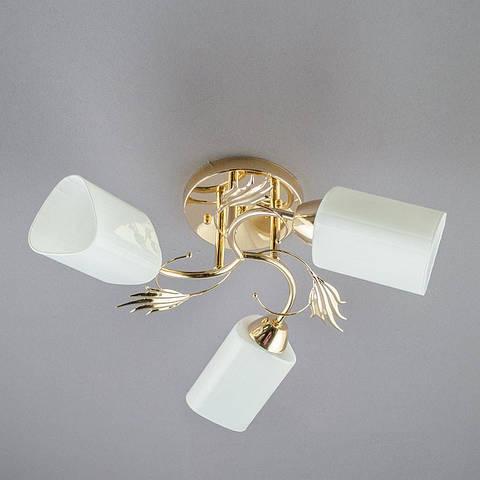 Люстра «Касандра 3» золото SH-H-12947/3 FG