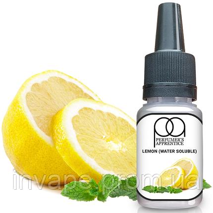 Ароматизатор TPA Lemon (water soluble) Flavor* (Лимон с водой) 5мл, фото 2