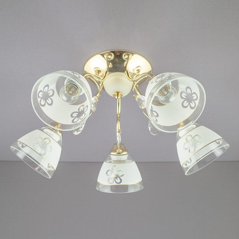 Люстра «Элис 5» золото SU-12956/5C FG WT