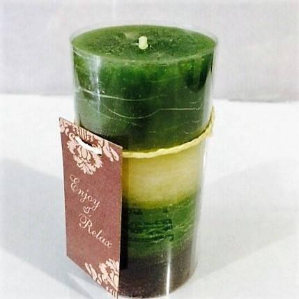 Арома-свечи из воска высота 10см диаметр 5 см с 6-разными ароматами, фото 2