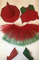 Новогодний костюм для девочки Різдвяна квітка