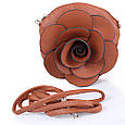 Клатч-кошелек женский HJP UHJP8138-8 кожзам коричневый, фото 7