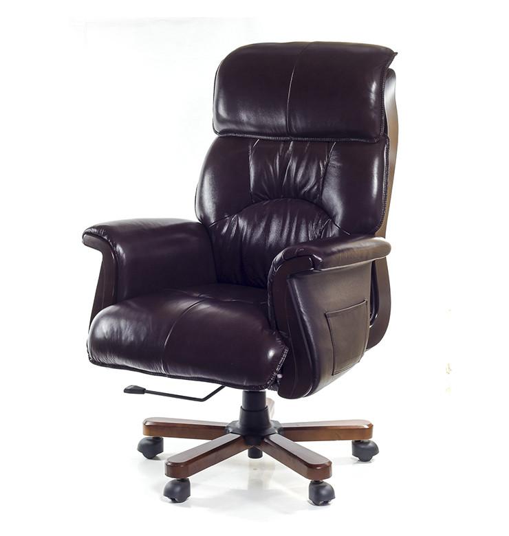 Кресло АКЛАС Максимус EX D-Tilt Темно-коричневое