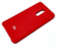 Чохол Silicone Case Cover для Xiaomi Redmi Note 4X червоний