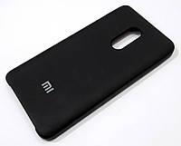 Чохол Silicone Case Cover для Xiaomi Redmi Note 4X чорний