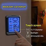 Термо-гигрометр ThermoPro TP-55 (-50°C ... 70°C; 10%...99%) с подсветкой и магнитом, фото 2