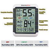 Термо-гигрометр ThermoPro TP-55 (-50°C ... 70°C; 10%...99%) с подсветкой и магнитом, фото 6