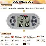 Двухканальный беспроводной термометр ThermoPro TP-22 (0 ..+300 °С; до 100 м) со щупом для приготовления пищи , фото 3