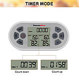 Двухканальный беспроводной термометр ThermoPro TP-22 (0 ..+300 °С; до 100 м) со щупом для приготовления пищи , фото 6