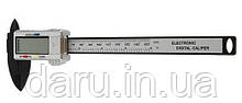 Цифровой штангенциркуль из углеволокна, длина 150 мм, точность 0,1 мм