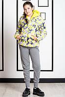 Детская Куртка Для Девочек Двусторонняя С Капюшоном,Ido Италия. Подарит Солнечное Настроение Вашей Девочке