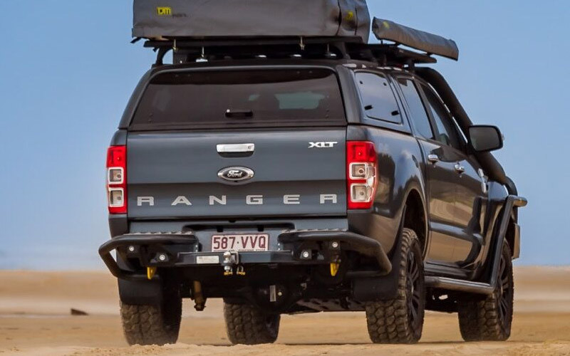 Задній бампер силовий TJM Ford Ranger 2012+