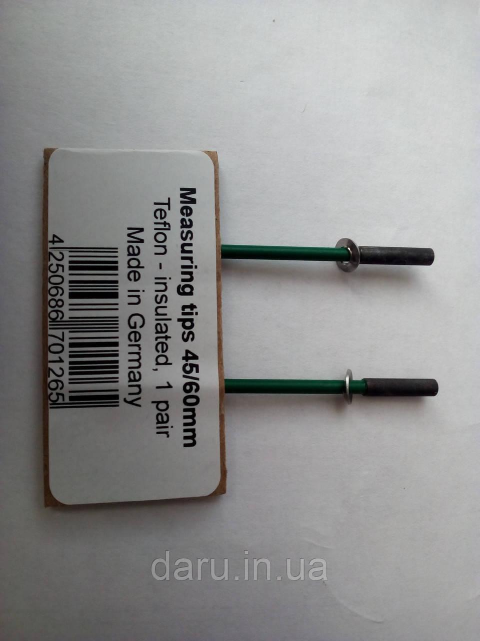 Иглы для влагомера Exotek MC-460 для зондов S-10 и S-30 - 45/60 мм (Пара) с тефлоновой изоляцией