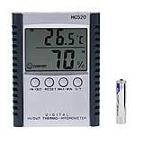 Термогигромтер с выносным датчиком HC520 (-50 ... + 70 °C; 20% - 90%), фото 3
